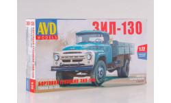1296AVD Сборная модель ЗИЛ-130 бортовой, сборная модель автомобиля, 1:72, 1/72, Автомобиль в деталях (by SSM)