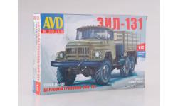 1297AVD Сборная модель ЗИЛ-131 бортовой, сборная модель автомобиля, 1:72, 1/72, Автомобиль в деталях (by SSM)