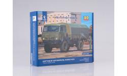 1304AVD Сборная модель КАМАЗ-4350 4x4 Мустанг, масштабная модель, 1:43, 1/43, Автомобиль в деталях (by SSM)