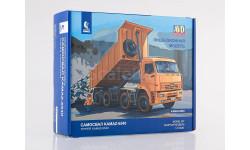 1311AVD Сборная модель КАМАЗ-6540 8x4 самосвал, масштабная модель, 1:43, 1/43, Автомобиль в деталях (by SSM)