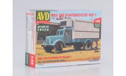 1326AVD Сборная модель МАЗ-200 Рефрижератор ЧАР-1