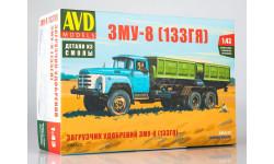 1366AVD Сборная модель Загрузчик машин для внесения минеральных удобрений ЗМУ-8 (ЗиЛ-133ГЯ)