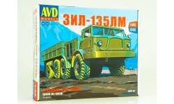 1416AVD Сборная модель ЗИЛ-135ЛМ бортовой