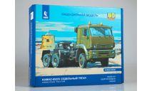 Сборная модель КАМАЗ-65225 седельный тягач 1456AVD, сборная модель автомобиля, AVD Models, scale43
