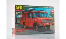 Сборная модель Пожарная автоцистерна Ikarus-526 1488AVD, сборная модель автомобиля, AVD Models, scale43