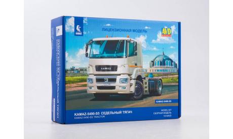 Сборная модель КАМАЗ-5490-S5 седельный тягач 1514AVD, сборная модель автомобиля, scale43, AVD Models