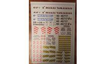 Автокран Ивановец, Галичанин декаль, фототравление, декали, краски, материалы, maksiprof, МАЗ, scale48