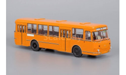 04002E ЛиАЗ-677М Оранжевый (с запасным колесом), масштабная модель, 1:43, 1/43, Classicbus