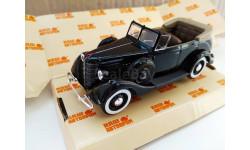 H159а ГАЗ-11-40 фаэтон открытый черный, масштабная модель, 1:43, 1/43, Наш Автопром