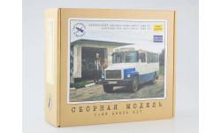 4017KIT Пригородный автобус КАВЗ-3976, сборная модель автомобиля, 1:43, 1/43, AVD Models