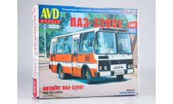 Сборная модель ПАЗ-32051 городской 4027AVD