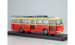 Троллейбус Skoda-9TR (красно-бежевый) SSM4044