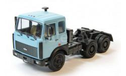 Н798 МАЗ 64221 седельный тягач (1989-1991), голубой