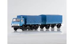 SSM7029 КАМАЗ-5320 с прицепом ГКБ-8350