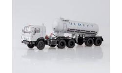SSM7034 КАМАЗ-54112 с полуприцепом-цементовозом ТЦ-11