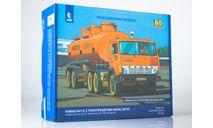 7061AVD Сборная модель КАМАЗ-54112 с полуприцепом НЕФАЗ-96742, сборная модель автомобиля, scale43, AVD Models