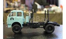 H716 МАЗ-509П лесовоз (1965), масштабная модель, Наш Автопром, scale43