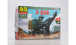 Сборная модель Экскаватор Э-656 8012AVD