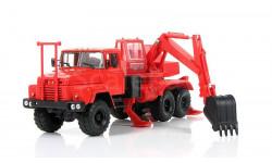 Н746 КрАЗ-260 ЭО-4421 красный, масштабная модель, Наш Автопром, scale43