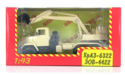 Н748 КрАЗ-6322 ЭОВ-4422, масштабная модель, 1:43, 1/43, Наш Автопром