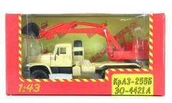 Н742 КрАЗ-255Б ЭО-4421А, масштабная модель, 1:43, 1/43, Наш Автопром