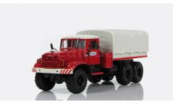 Н952 КрАЗ-255В балластный тягач с тентом