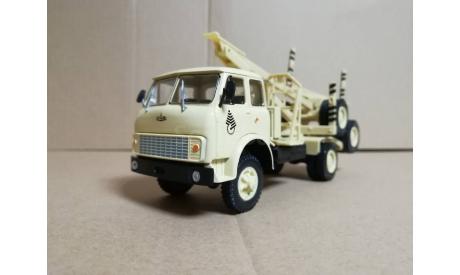 H715 МАЗ-509А лесовоз (1978), масштабная модель, Наш Автопром, scale43