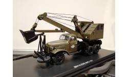 0010MP Автомобильный экскаватор-кран ДКА-0,25/5 на шасси ЗИС-151