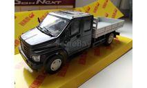 Н2412 ГАЗон Некст С42R33 темно-синий, масштабная модель, Наш Автопром, scale43