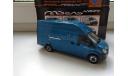 ГАЗель Некст A31R32 синий, Н657, масштабная модель, scale43, Наш Автопром