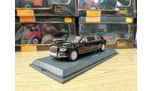 Aurus Аурус Сенат лимузин черный 2018 Schuco, масштабная модель, scale43