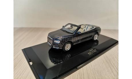 AURUS SENAT кабриолет с открытым тентом 2019 DipModels 412316, масштабная модель, scale43, DiP Models, Аурус