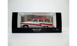 NEO44293 ГАЗ-М22 Волга Аэрофлот 'Следуйте за мной', 1965г., масштабная модель, 1:43, 1/43, Neo Scale Models