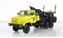 Н730 КрАЗ-64371 Лесовоз, масштабная модель, 1:43, 1/43, Наш Автопром