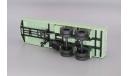 H860 Сцепка МАЗ-515 с полуприцепом МАЗ-5205, масштабная модель, scale43, Наш Автопром
