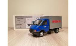 ГАЗ-33021 Изотермический фургон Продукты, масштабная модель, 1:43, 1/43, Херсон-моделс