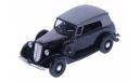 H158b ГАЗ М1 фаэтон с тентом (черный), масштабная модель, 1:43, 1/43, Наш Автопром