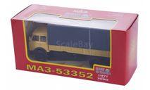 Н297 МАЗ 53352 с тентом (1977-1990), желтый, масштабная модель, 1:43, 1/43, Наш Автопром