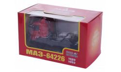 Н710 МАЗ 64226 седельный тягач (1989-1993), красный