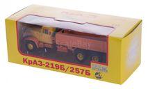 H768 КРАЗ 219Б бортовой экспортный (1966-1969), желто-оранжевый, масштабная модель, 1:43, 1/43, Наш Автопром