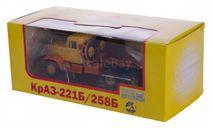 H769 КРАЗ 221Б/258Б седельный тягач (1966-1969), автоэкспорт, масштабная модель, 1:43, 1/43, Наш Автопром