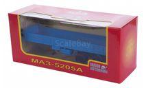 H856 МАЗ 5205А полуприцеп, синий, масштабная модель, 1:43, 1/43, Наш Автопром