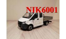 Н560 ГАЗель Некст С22R23 ,белый, масштабная модель, 1:43, 1/43, Наш Автопром