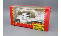Н738 КрАЗ 255Б1 ЭОВ-4421 ООН, масштабная модель, 1:43, 1/43, Наш Автопром
