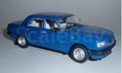 P102a ГАЗ 3110 Волга, синий, масштабная модель, 1:43, 1/43, Наш Автопром