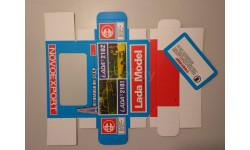 Коробка ЛАДА-2101/2102 Novoexport репринт, боксы, коробки, стеллажи для моделей, 1:43, 1/43, Агат/Моссар/Тантал, Москвич