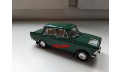 Р112b МОСКВИЧ-408 Элит зеленый, масштабная модель, Наш Автопром, scale43