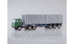 101593 МАЗ-6422 с полуприцепом-контейнеровозом МАЗ-938920