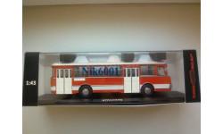 04018D ЛиАЗ-677 Экспортный, масштабная модель, 1:43, 1/43, Classicbus