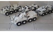 НОНА-СВК  Зимний камуфляж   в масштабе 1:43 (Под заказ), масштабные модели бронетехники, scale43, Неизвестный производитель